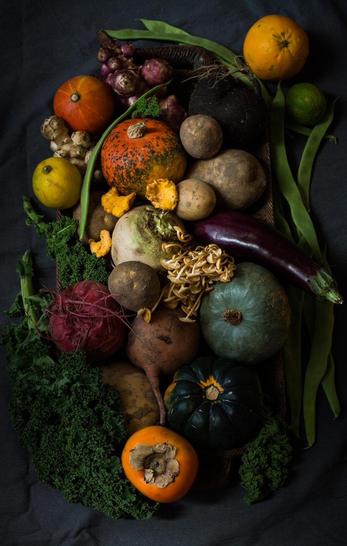 Image of veggies from farmer's market